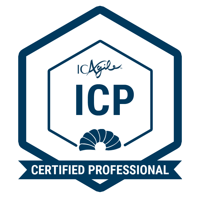 IC Agile Certified Professional
